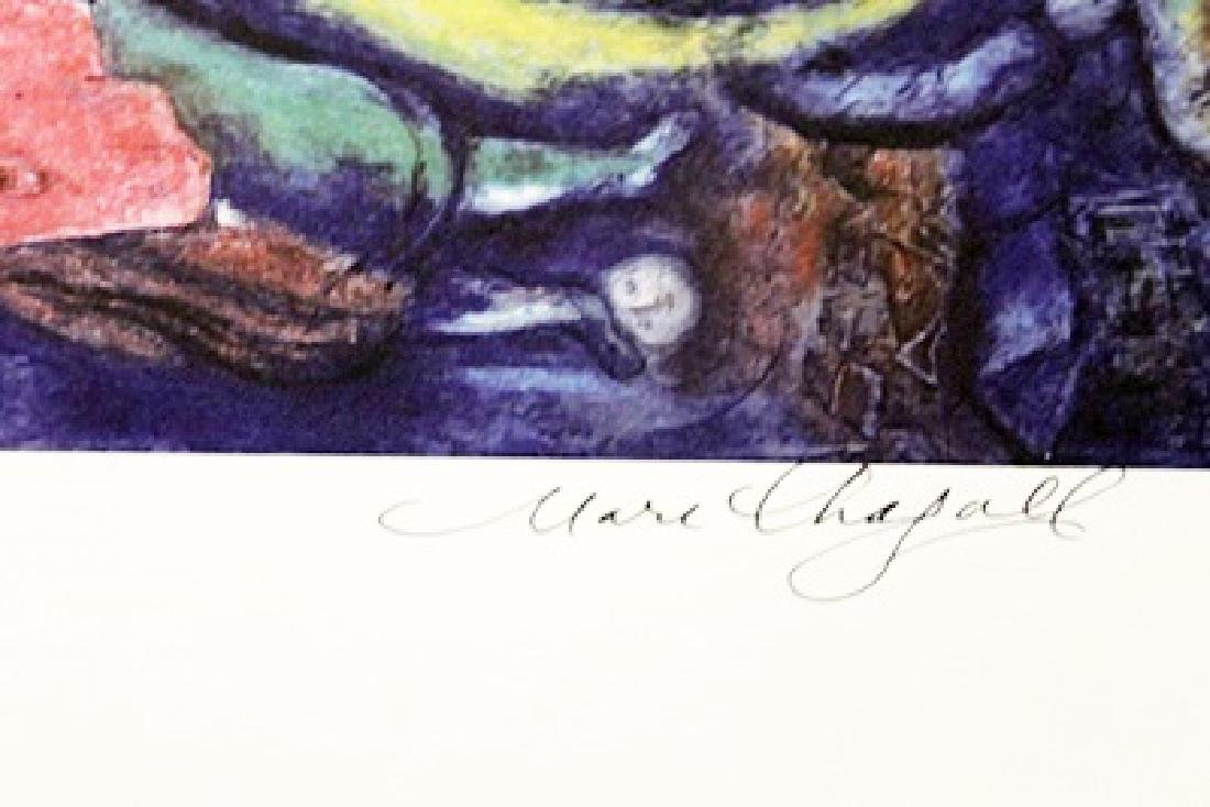 Marc Chagall Signed Lithograph 317 - 3