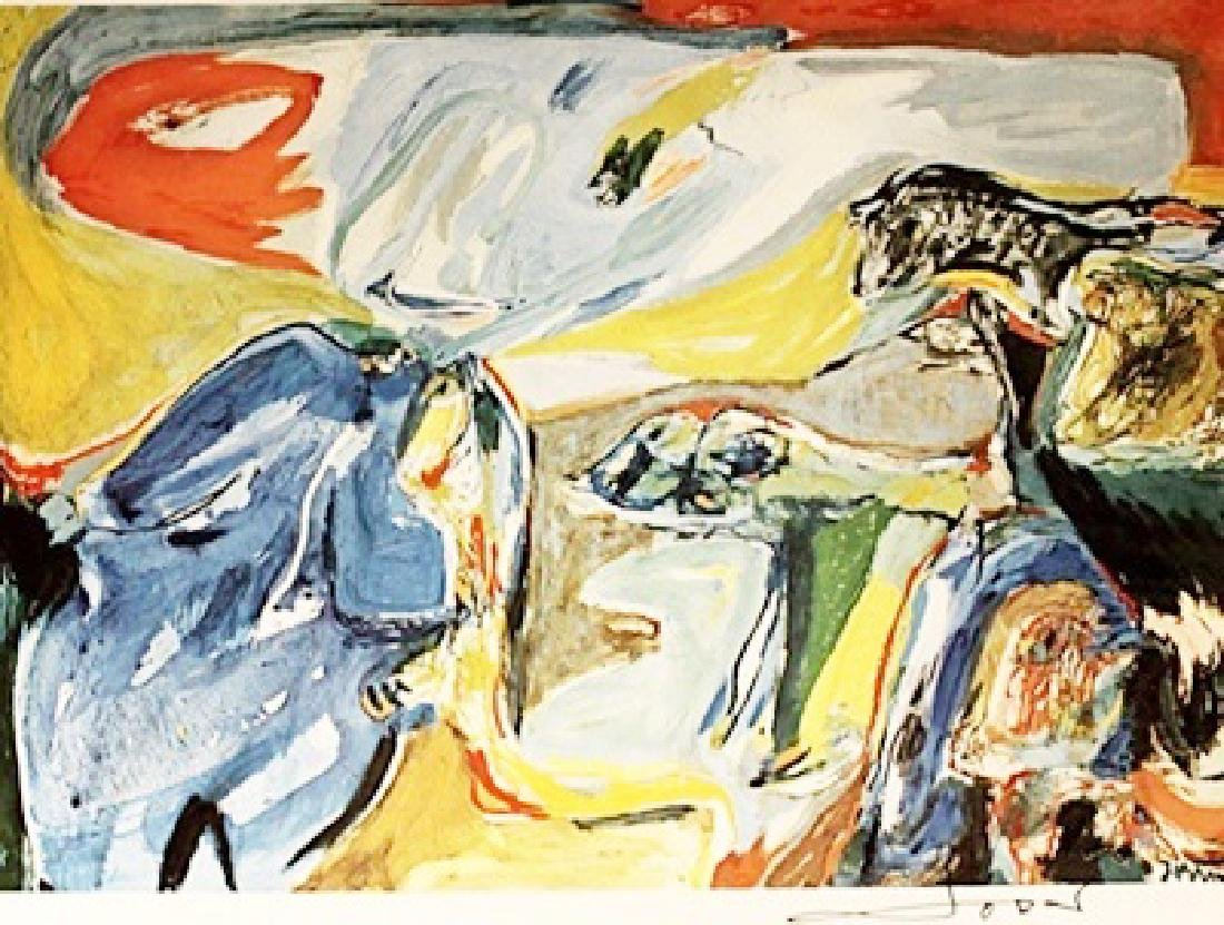 Asger Jorn Signed Lithograph 182