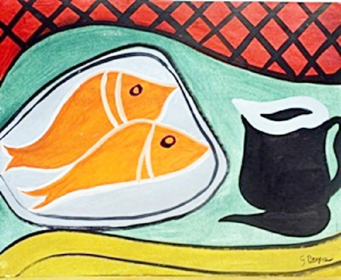 Nature Morte 1930' - Georges Braque