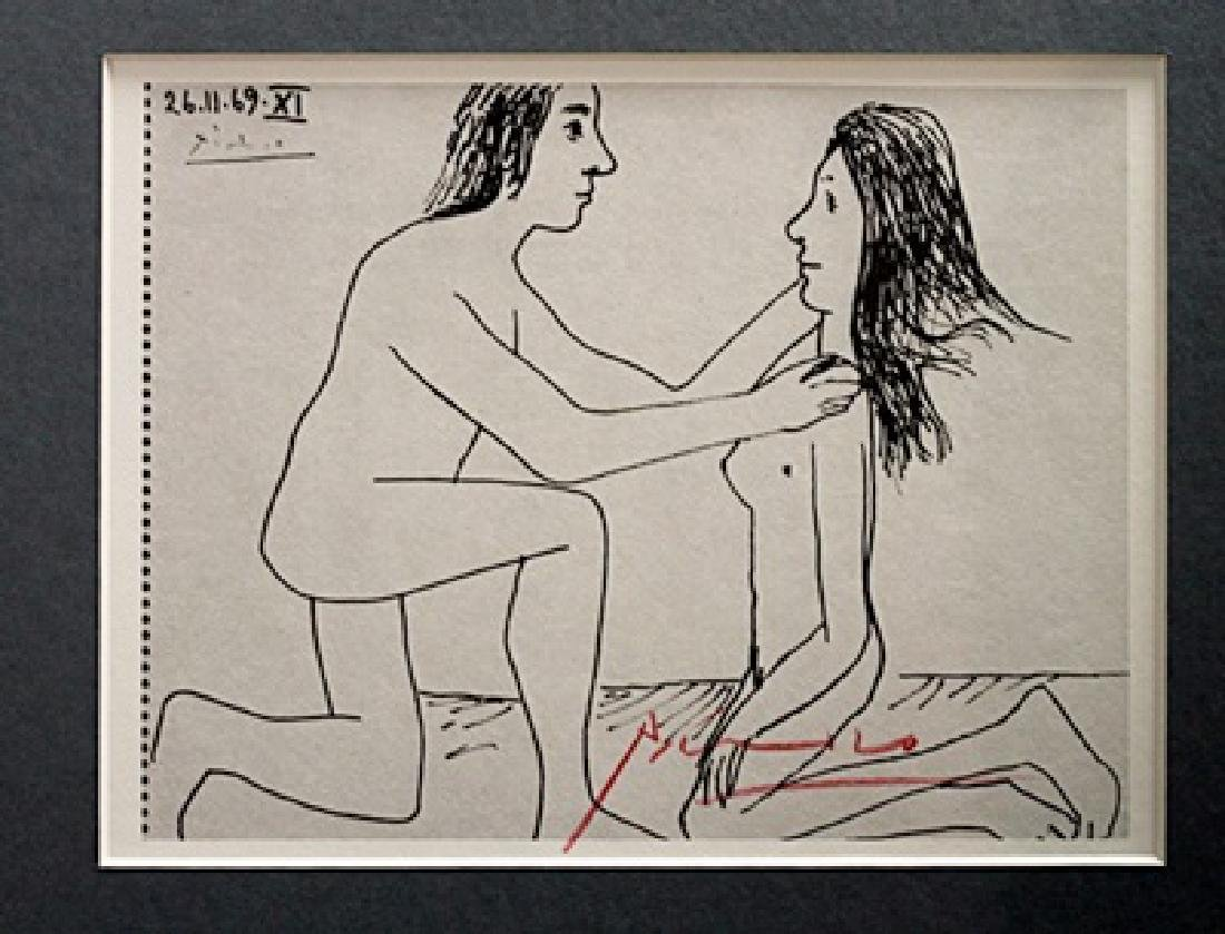 Pablo Picasso Signed Lithograph 58