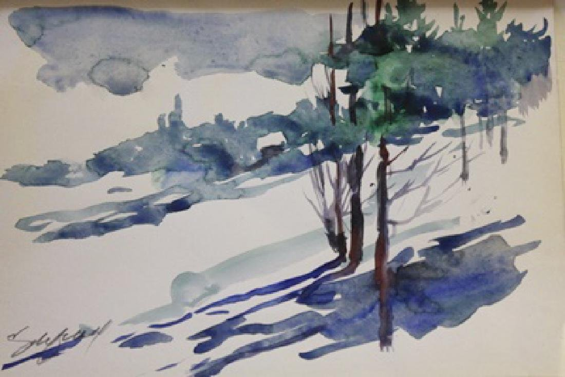 """WINTER WOODS""  BY MICHAEL SCHOFIELD"