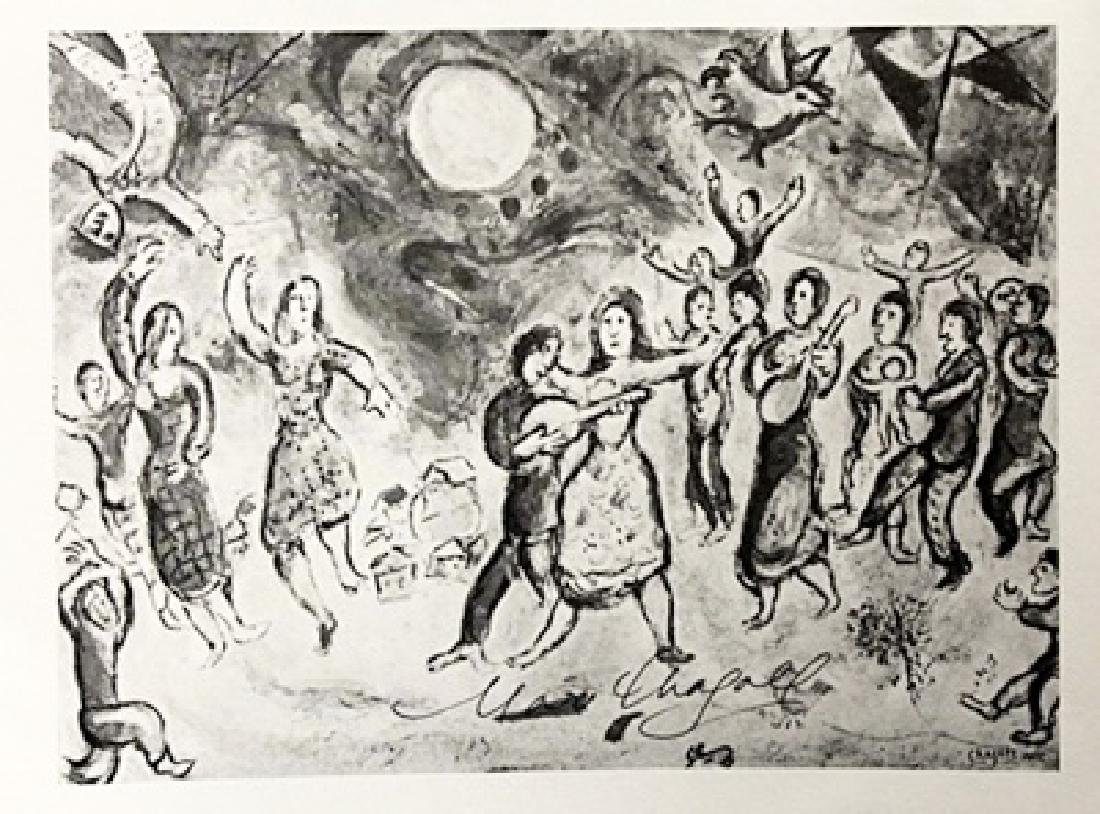 Marc Chagall Signed Lithograph 187