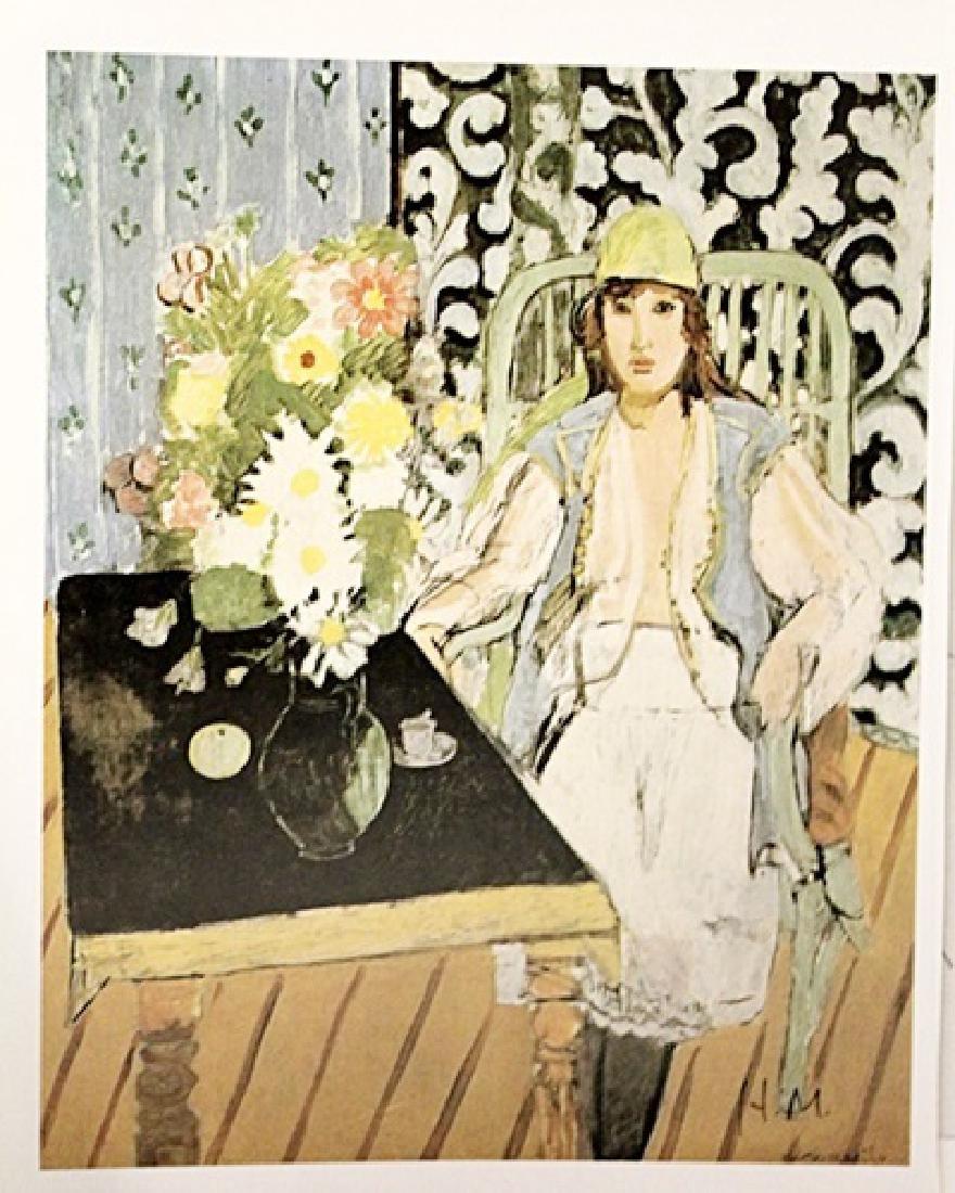 Henri Matisse Signed Lithograph 319