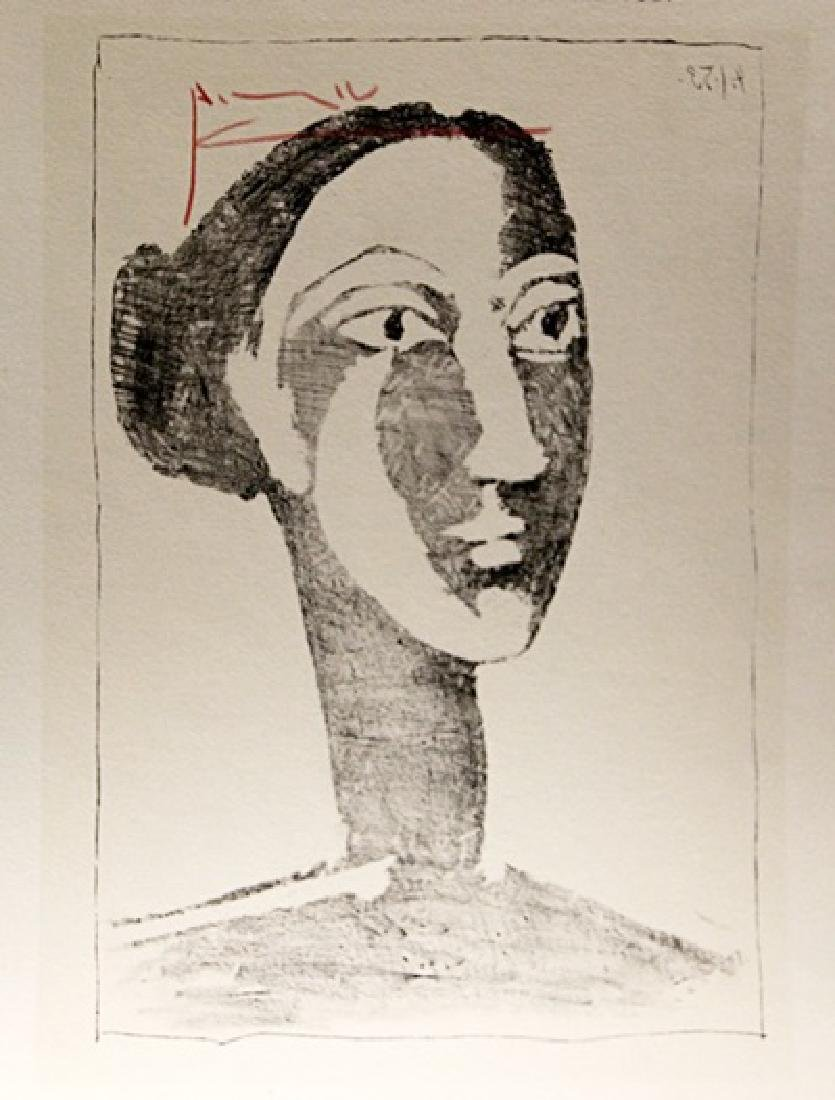 Pablo Picasso Signed Lithograph 256