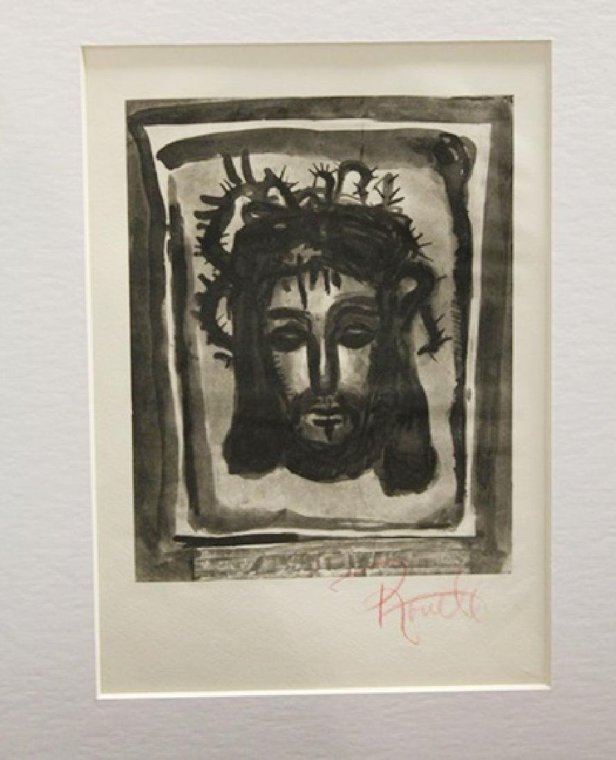Georges Rouault Signed Lithograph 373