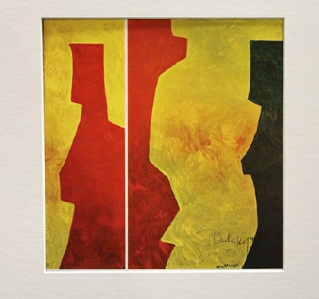 Serge Poliakoff Signed Lithograph 369