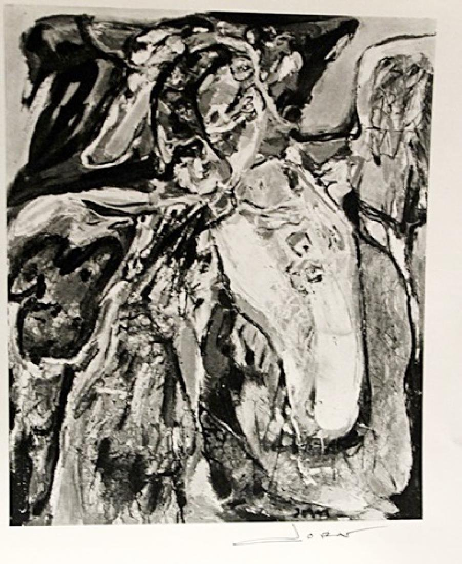Asger Jorn Signed Lithograph 183
