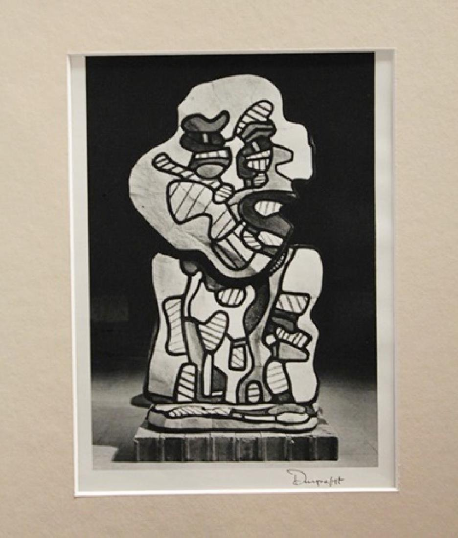 Jean Dubuffet Signed Lithograph 371