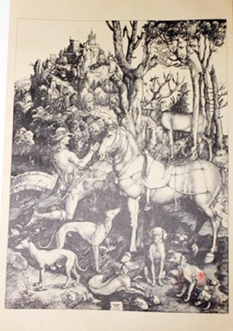 """""""Saint Eustace"""" Museum Lithograph"""