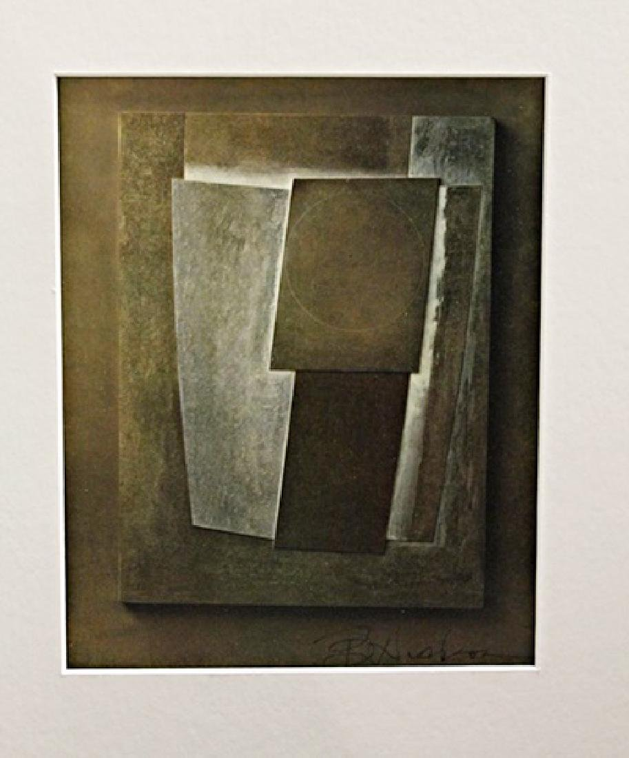 Ben Nicholson Signed Lithograph 350