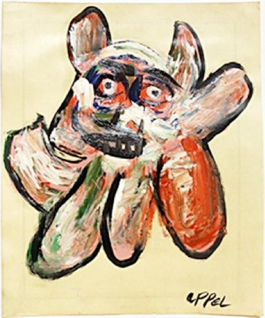 The Dog 1980' - Karel Appel