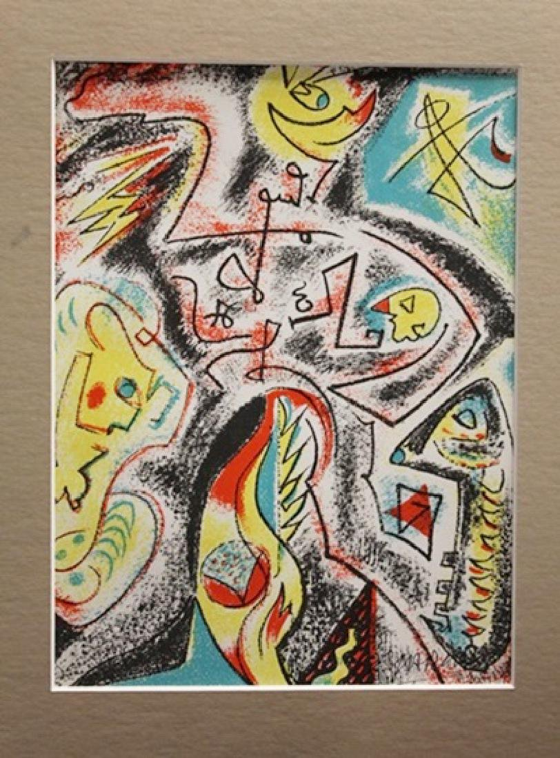 Andre Masson Signed Lithograph 205