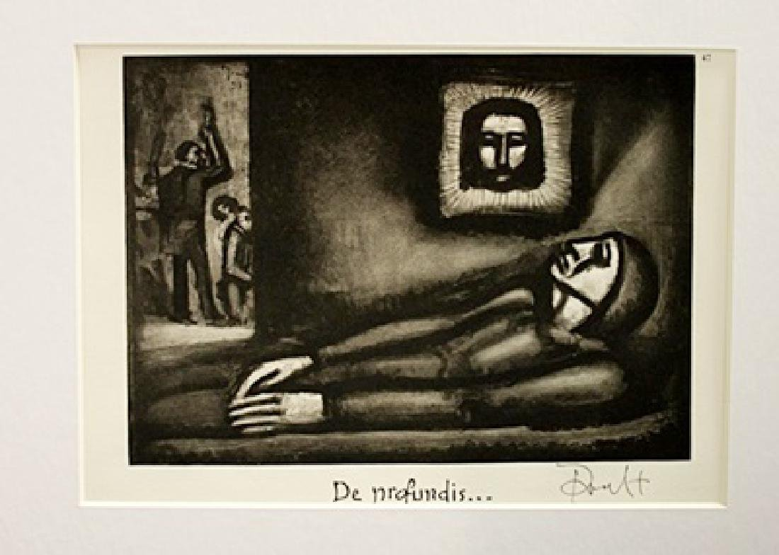Georges Rouault Signed Lithograph 14