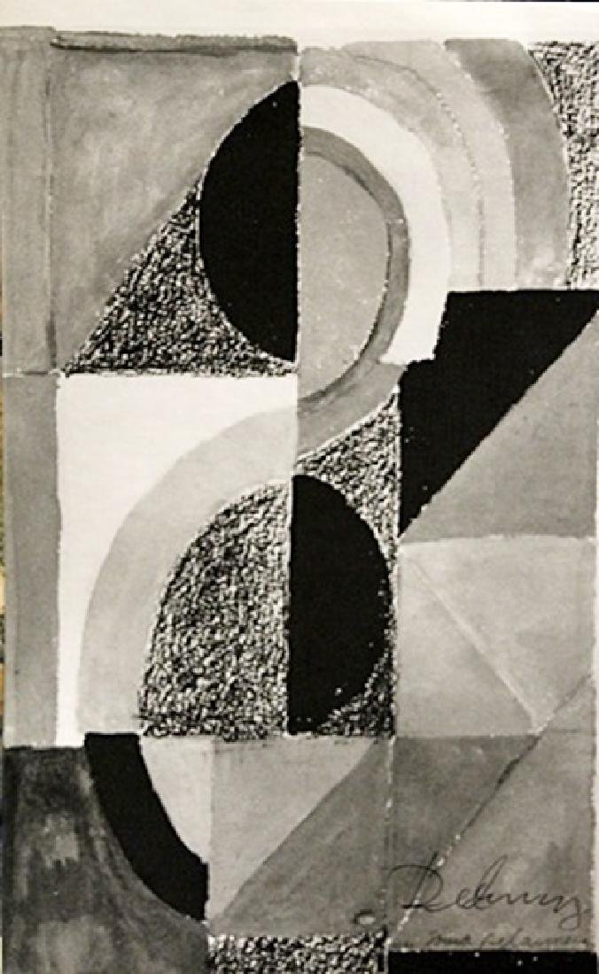 Sonia Delaunay Signed Lithograph 199