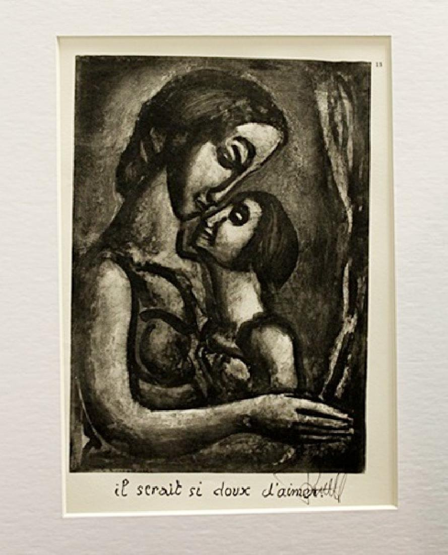 Georges Rouault Signed Lithograph 92