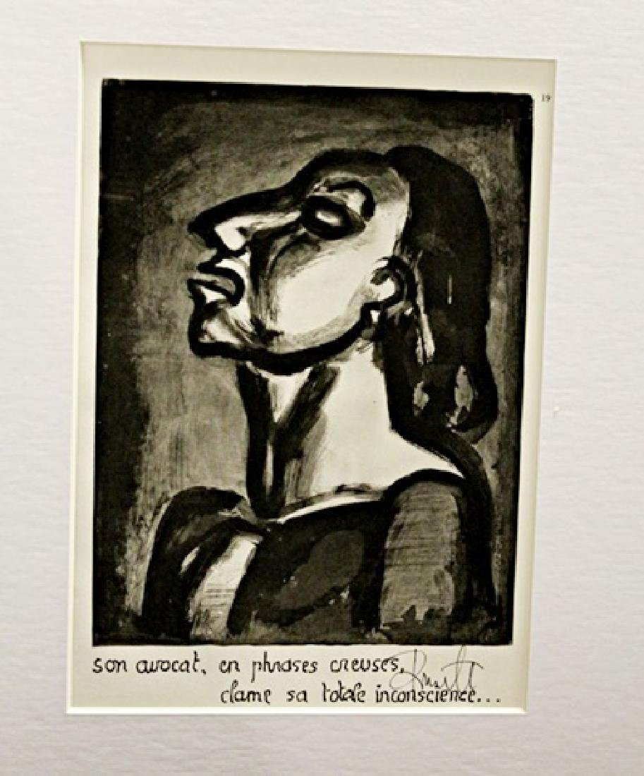 Georges Rouault Signed Lithograph 389