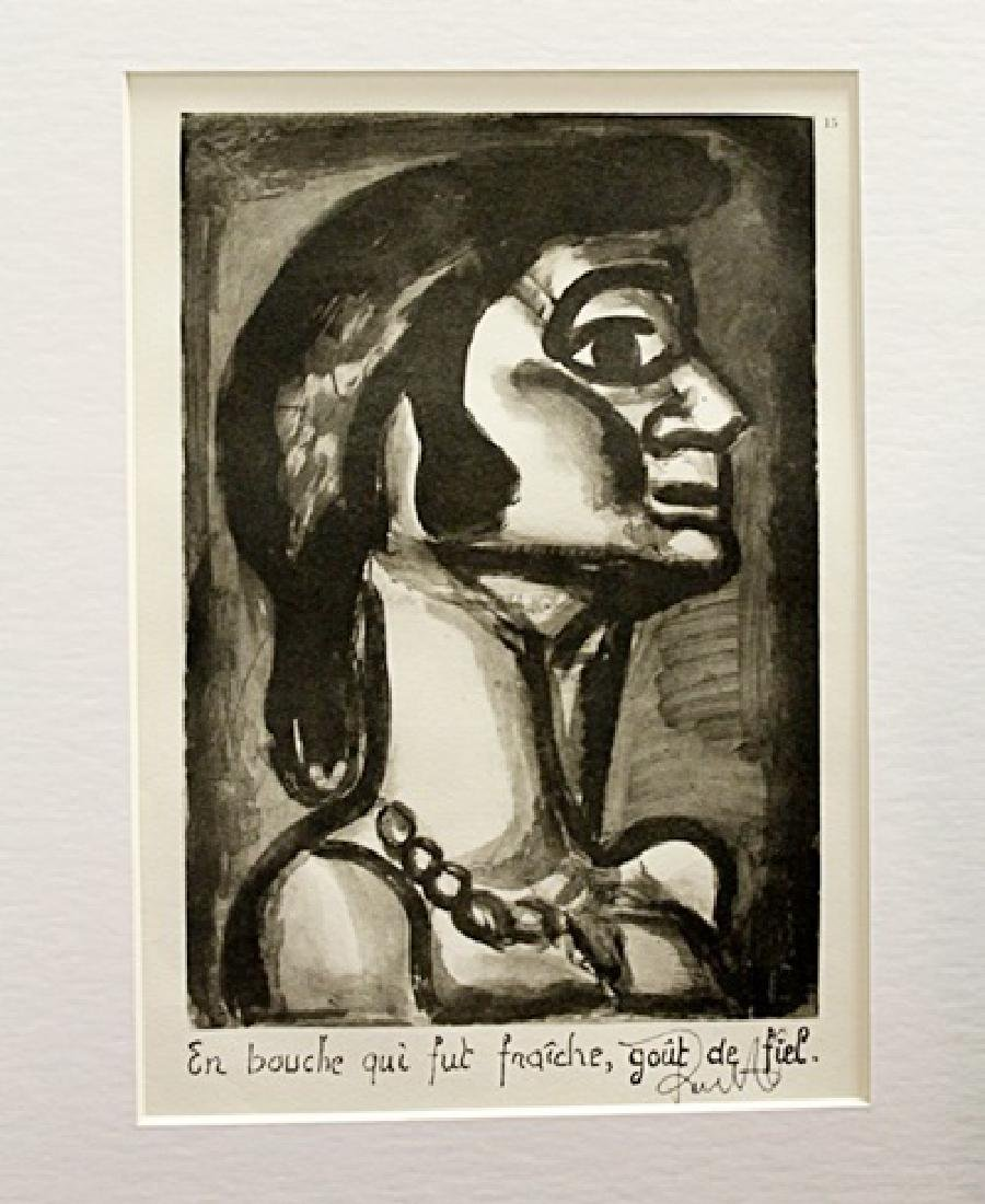 Georges Rouault Signed Lithograph 86