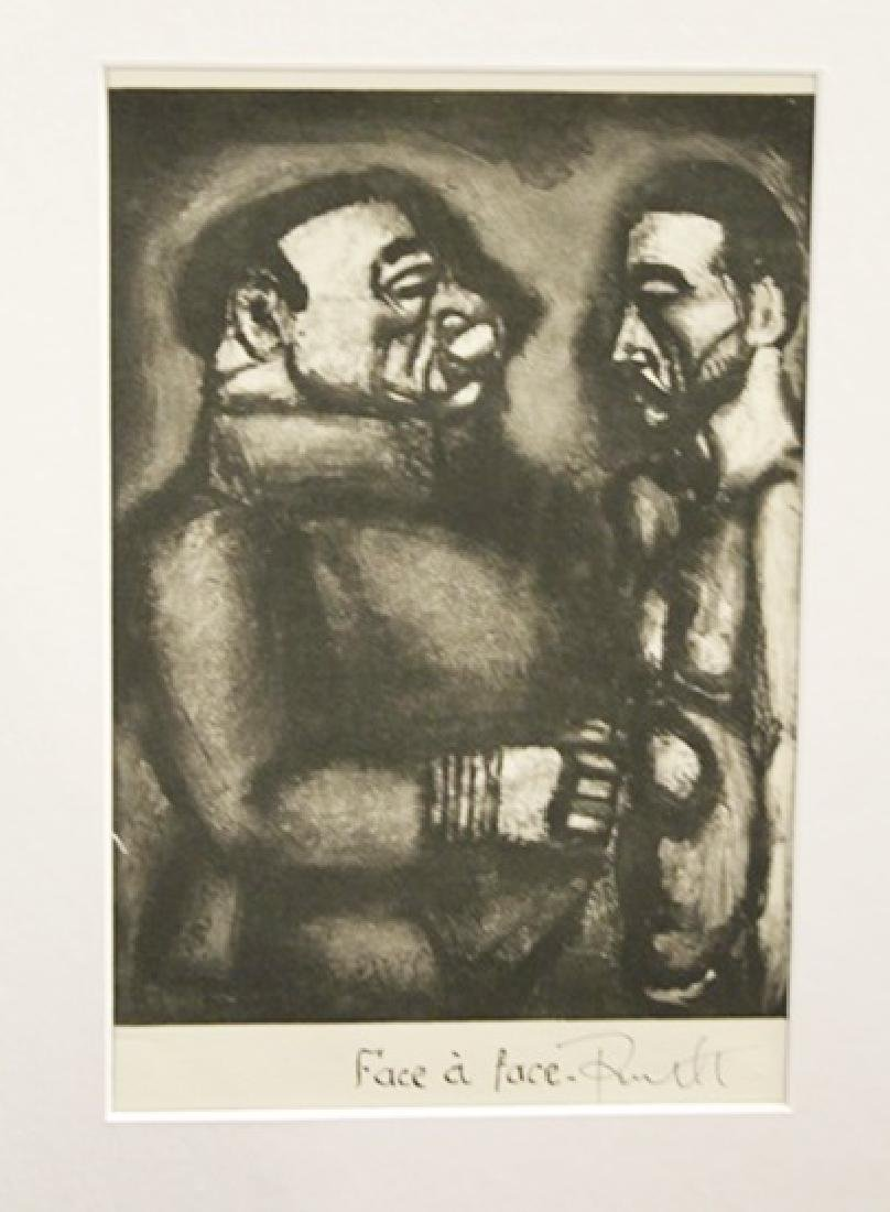 Georges Rouault Signed Lithograph 387