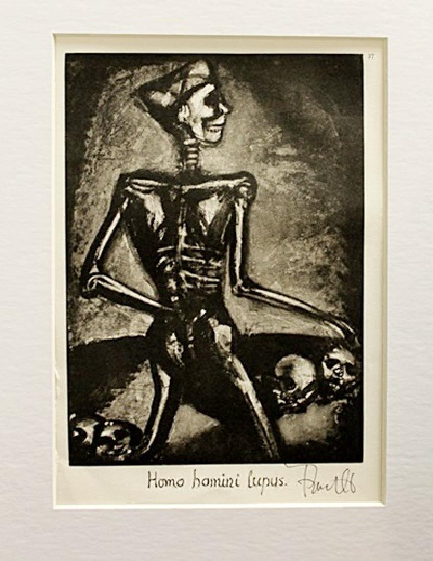 Georges Rouault Signed Lithograph 21