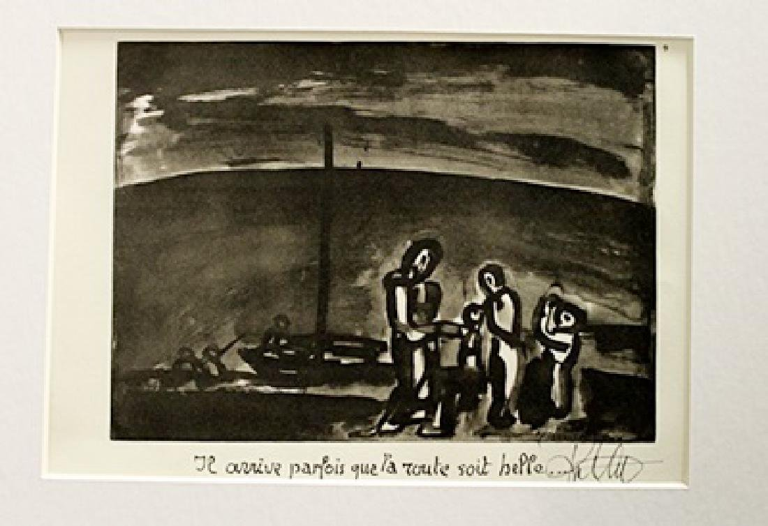 Georges Rouault Signed Lithograph 93