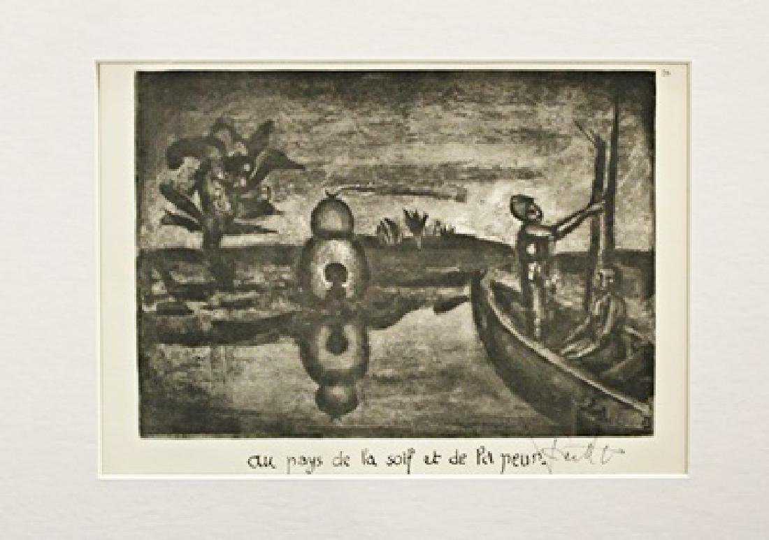 Georges Rouault Signed Lithograph 391