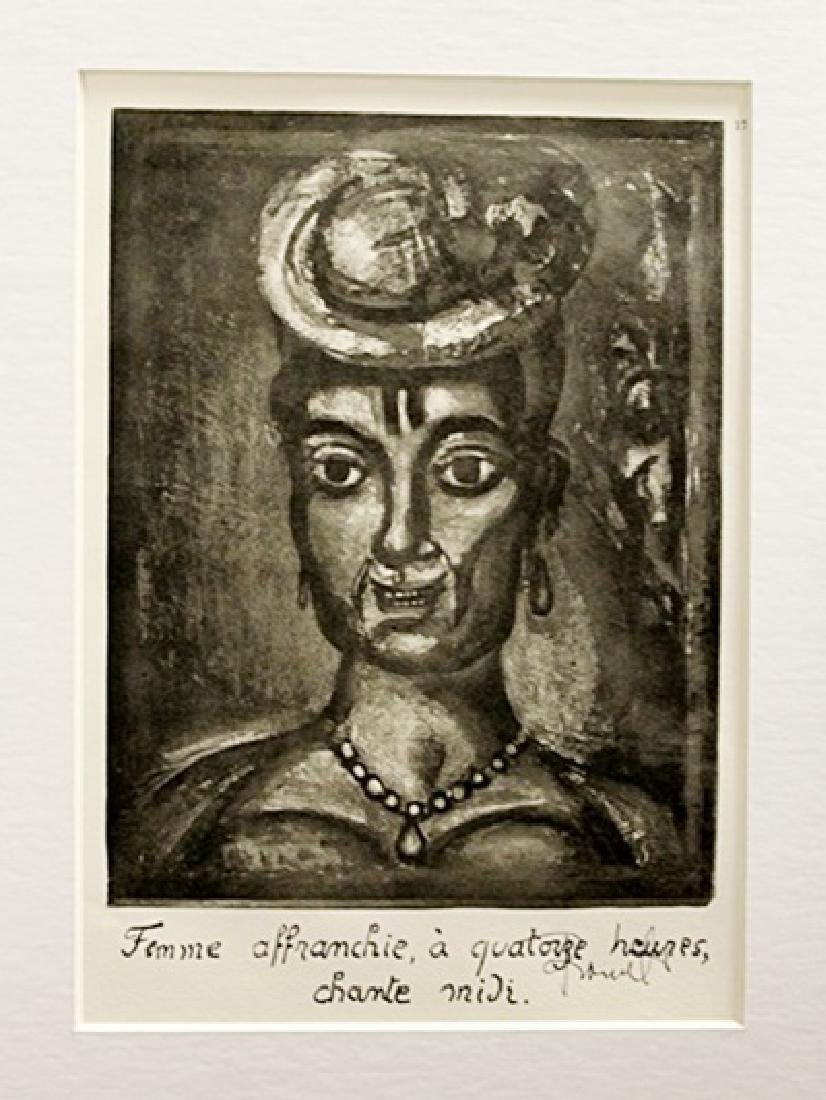 Georges Rouault Signed Lithograph 85