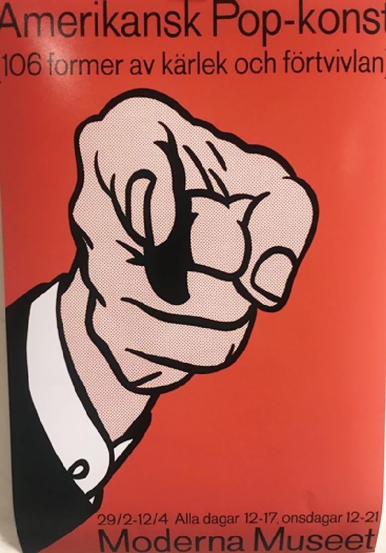 Roy Lichtenstein Lithograph - Hey You!