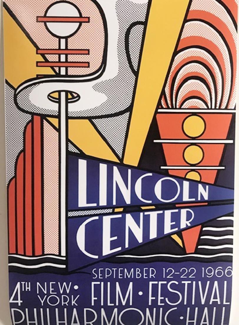 Roy Lichtenstein Lithograph - Lincoln Center Film