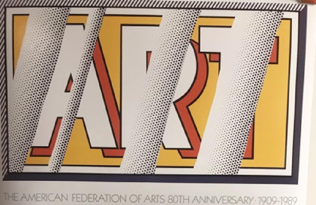 Roy Lichtenstein Lithograph - Reflections: Art
