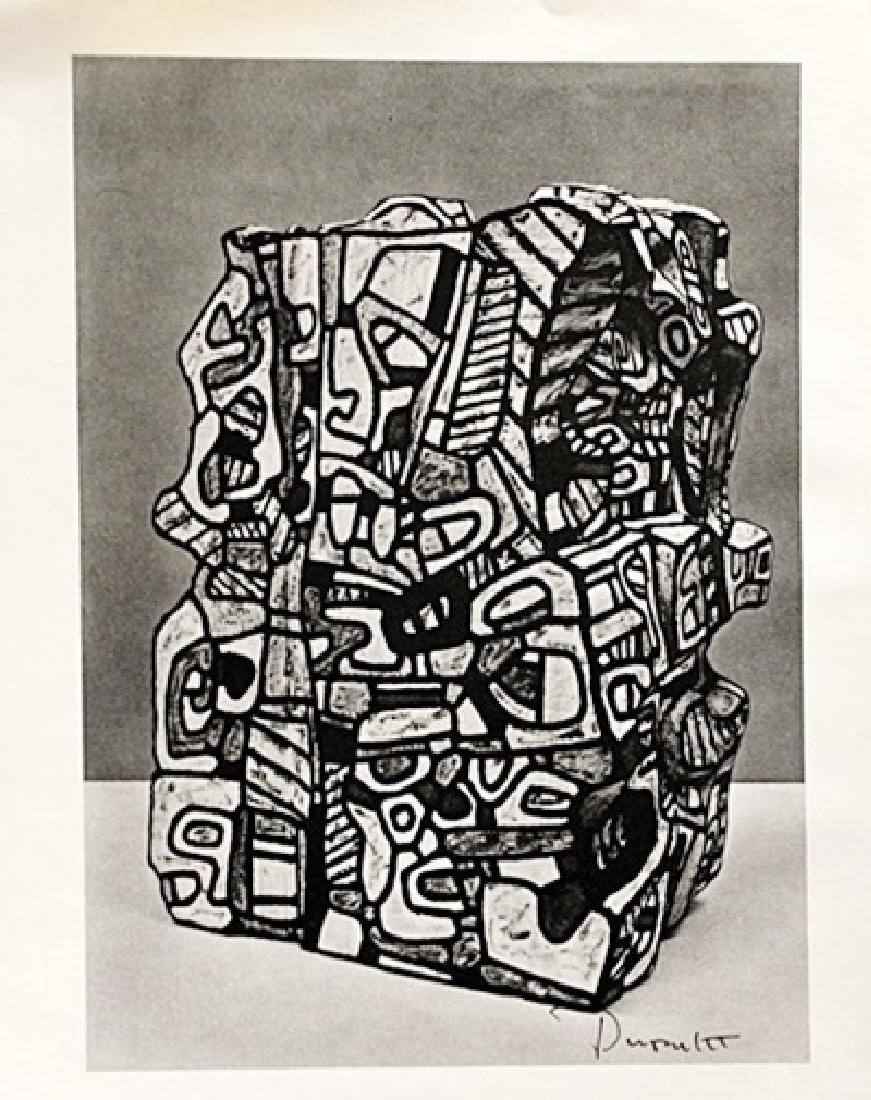 Jean Dubuffet Signed Lithograph 150