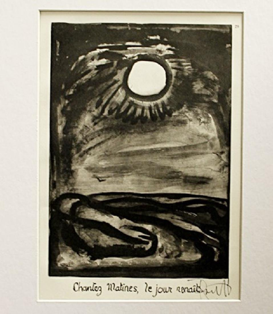 Georges Rouault Signed Lithograph 134