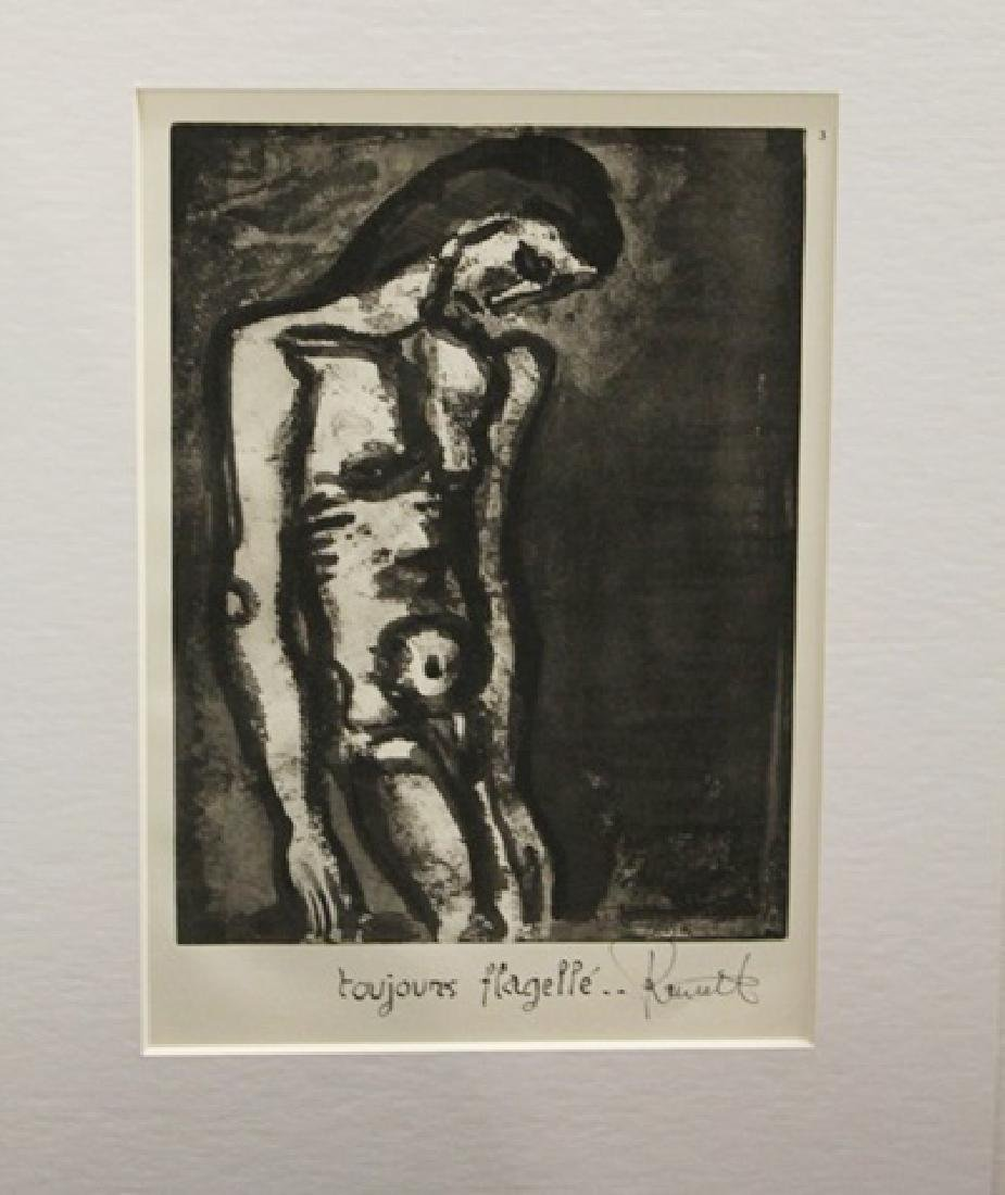 Georges Rouault Signed Lithograph 381