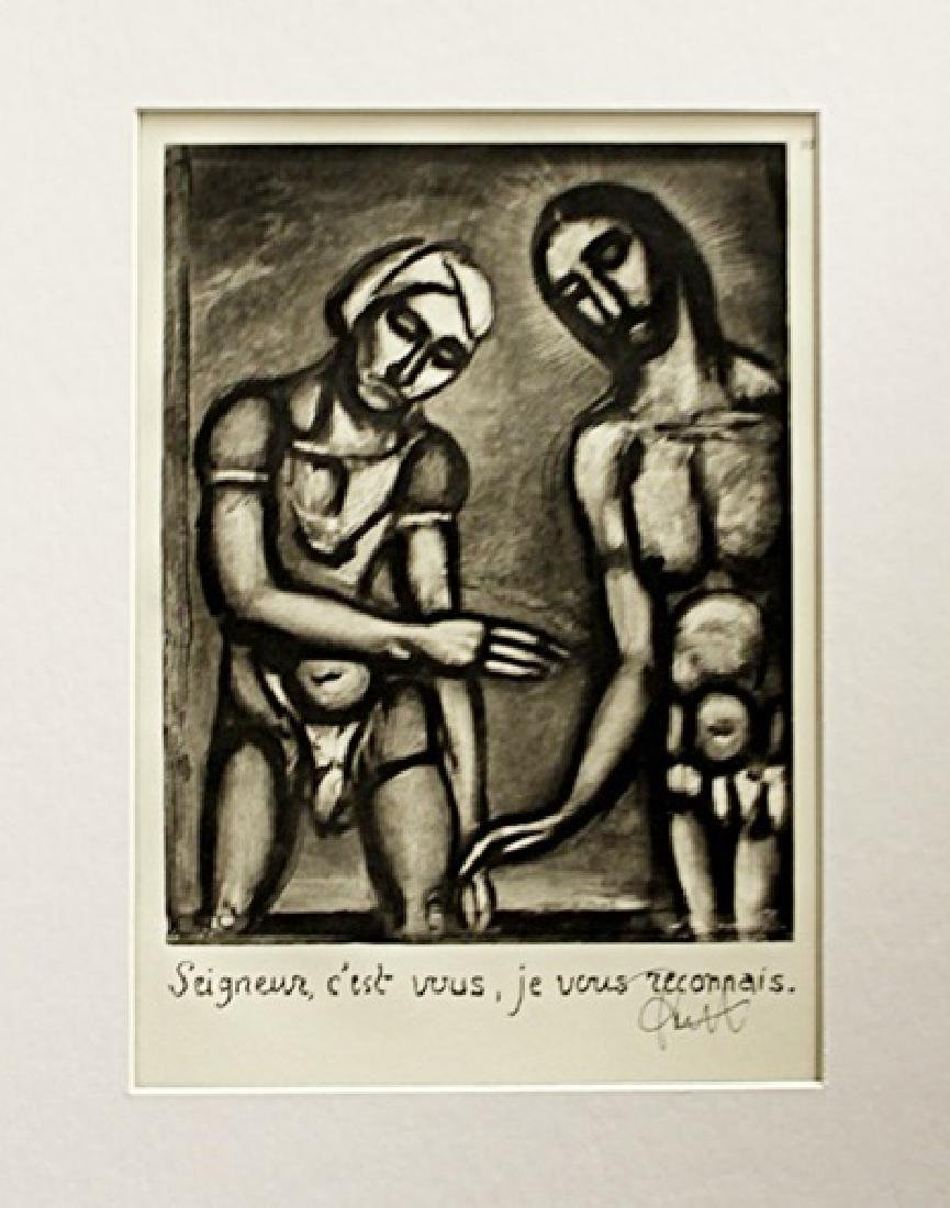 Georges Rouault Signed Lithograph 136