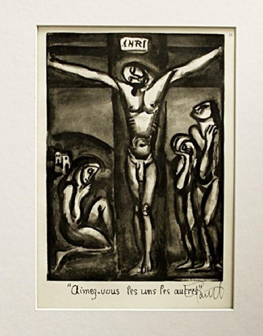 Georges Rouault Signed Lithograph 137