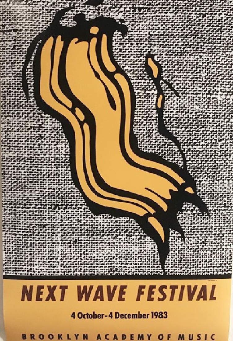Roy Lichtenstein Lithograph - Next Wave Festival