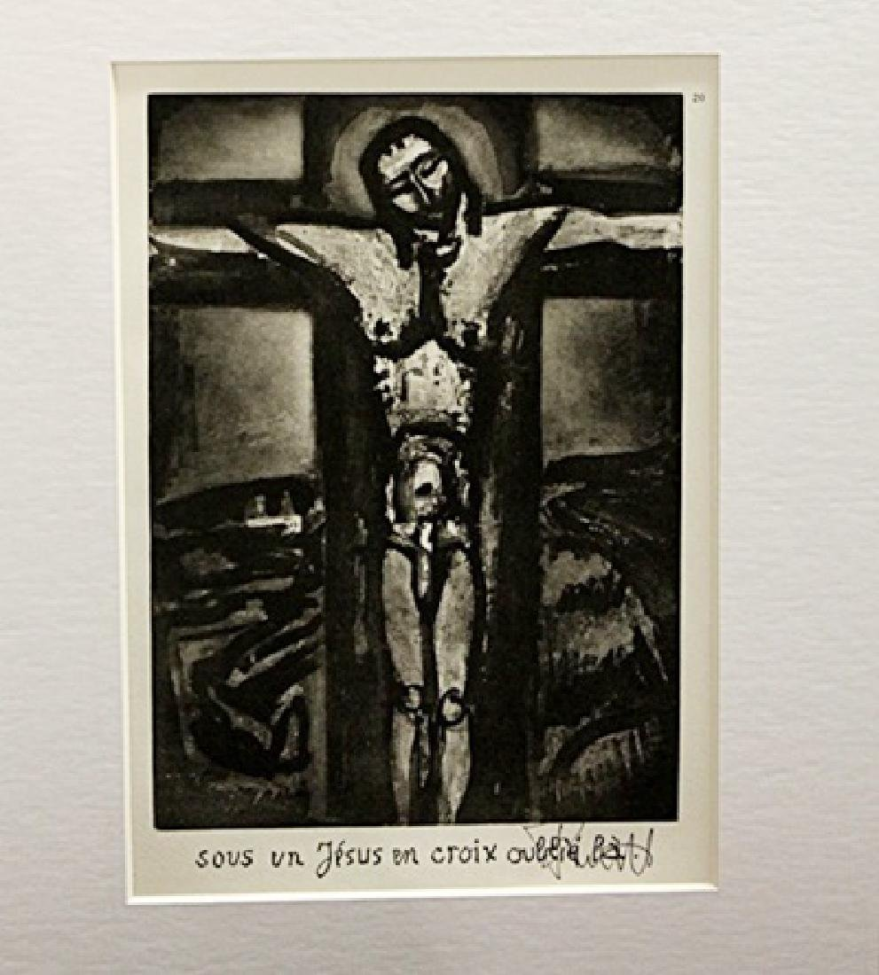 Georges Rouault Signed Lithograph 379
