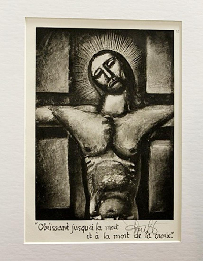 Georges Rouault Signed Lithograph 88