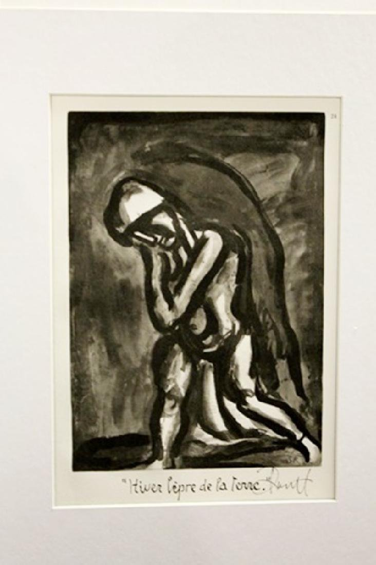 Georges Rouault Signed Lithograph 393