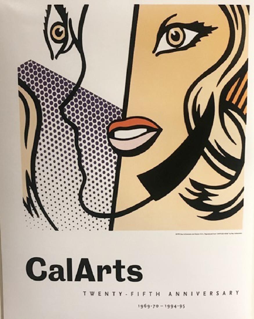 Roy Lichtenstein Lithograph - CalArts Twenty-Fifth