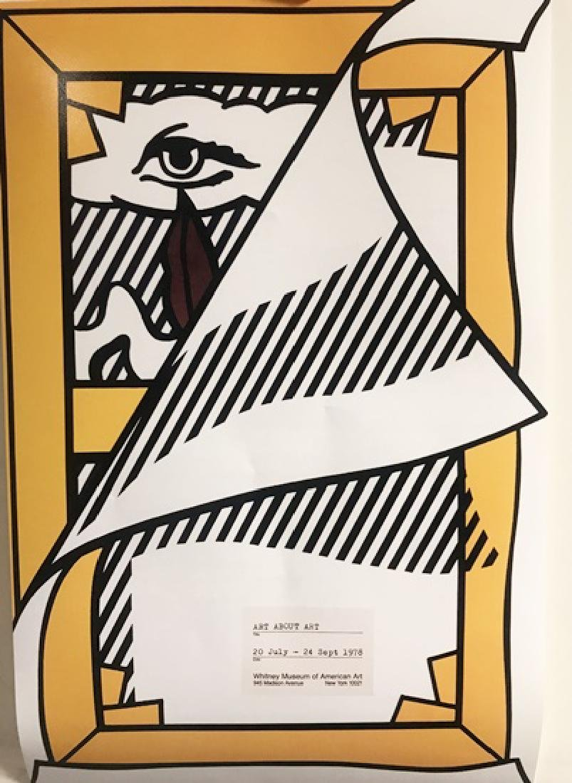 Roy Lichtenstein Lithograph - Art About Art