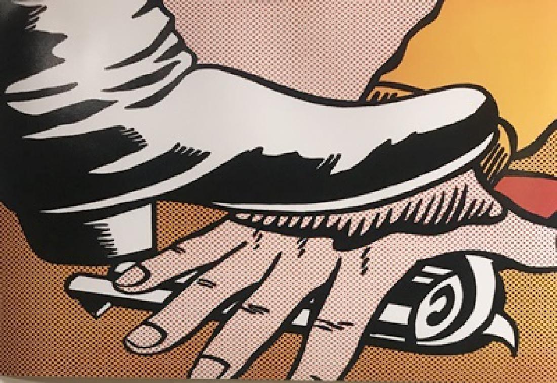 Roy Lichtenstein Lithograph - Foot and Hand