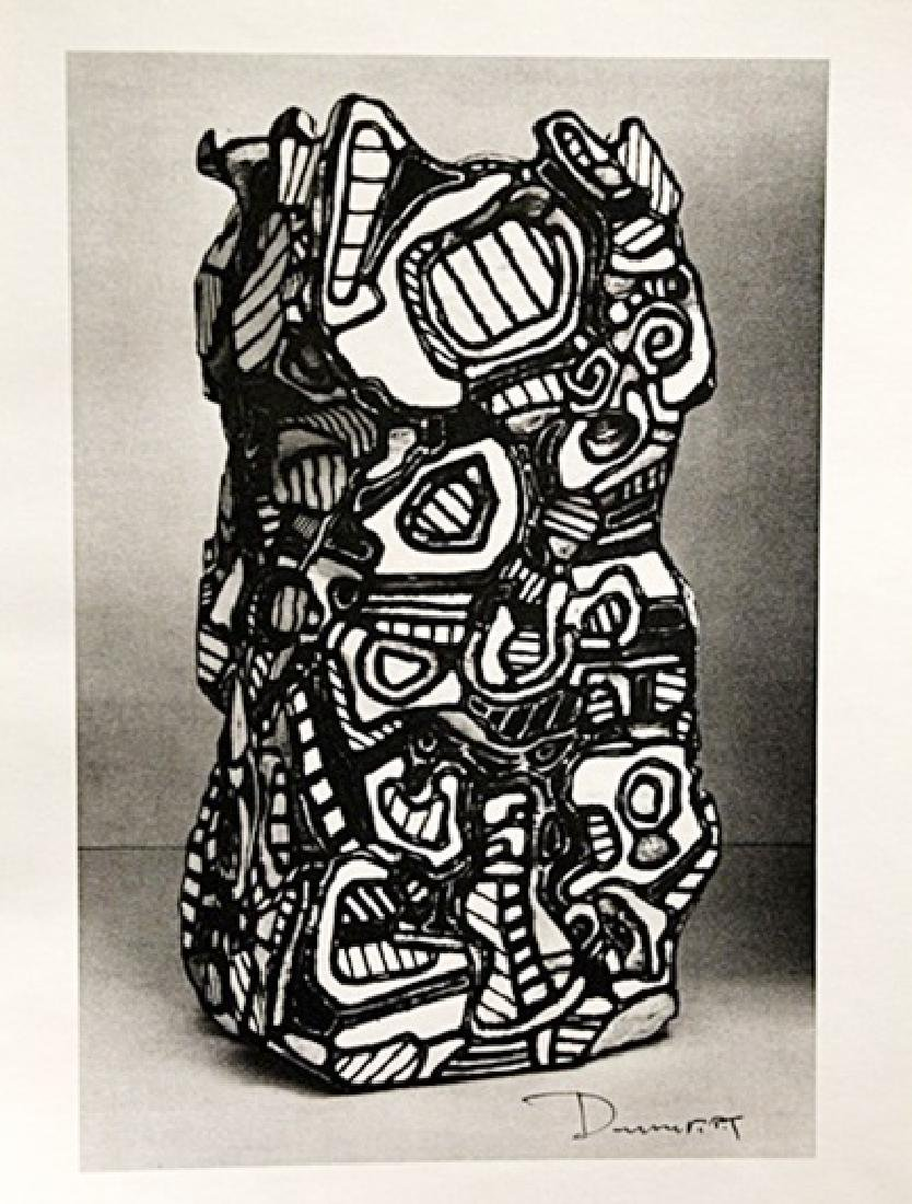 Jean Dubuffet Signed Lithograph 192