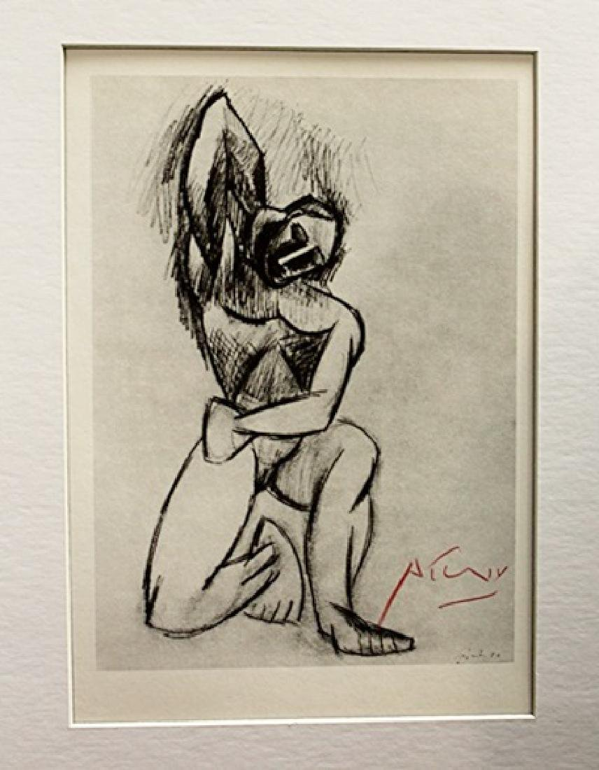 Pablo Picasso Signed Lithograph 24