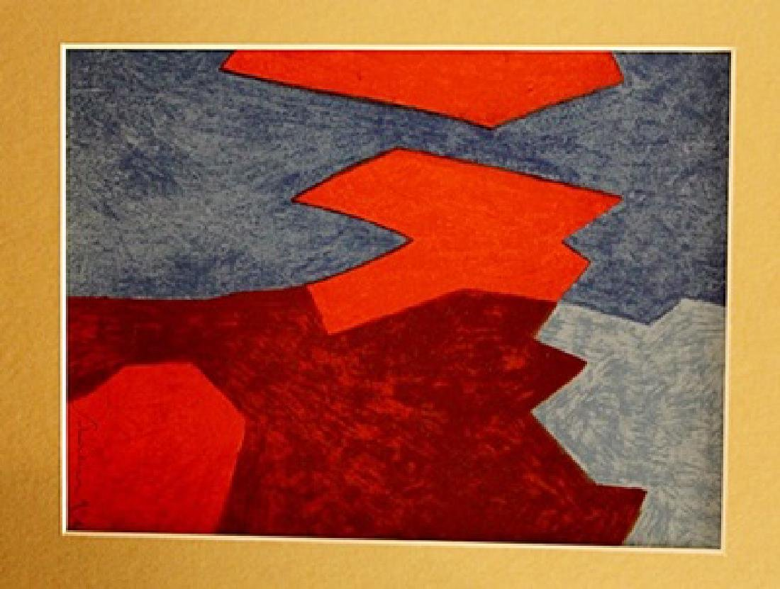 Serge Poliakoff Signed Lithograph 106