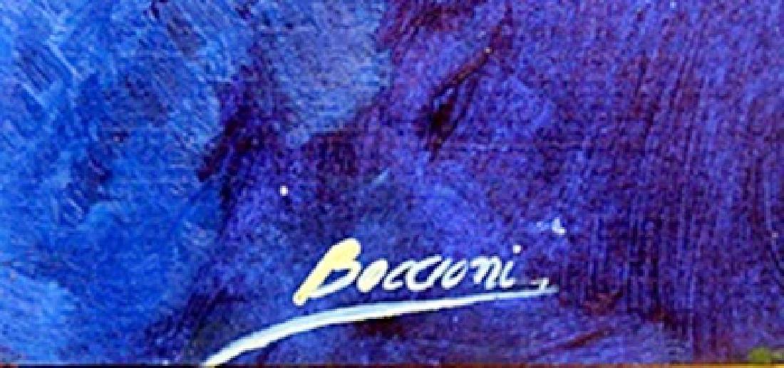 Composition - Oil on Paper - Umberto Boccioni - 2