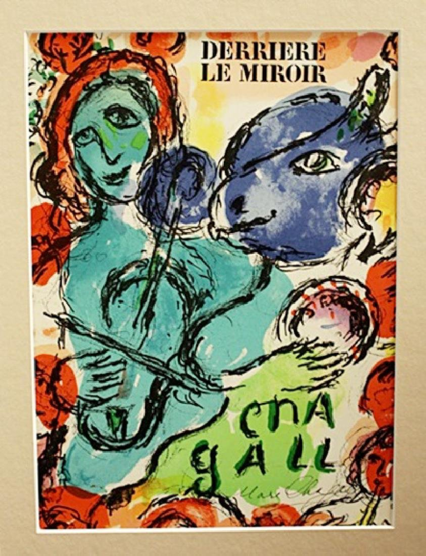 Marc Chagall Signed Lithograph 144