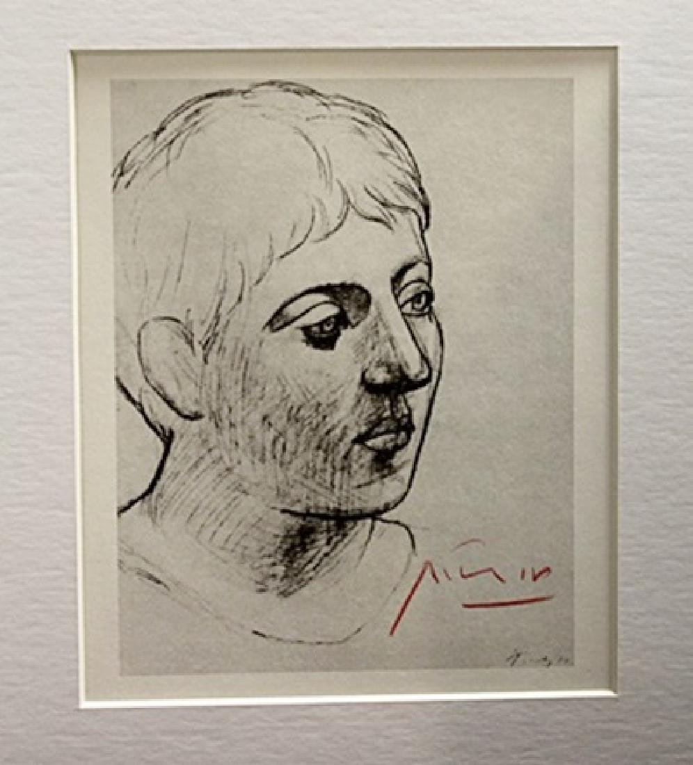 Pablo Picasso Signed Lithograph 64