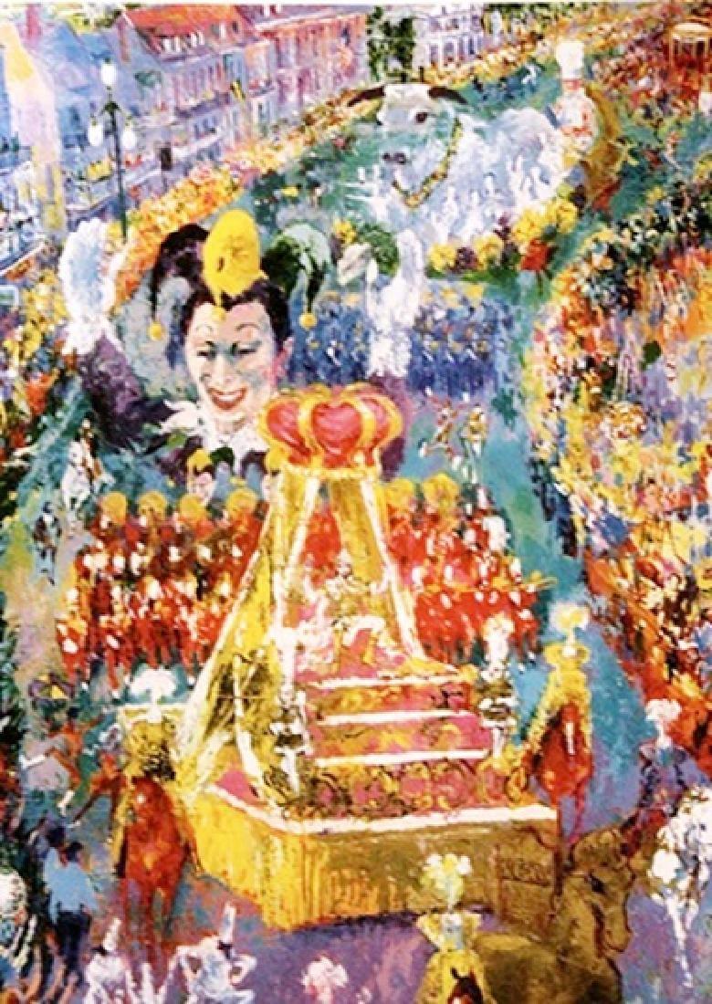 Mardi Gras Parade - LeRoy Neiman - Double Signed