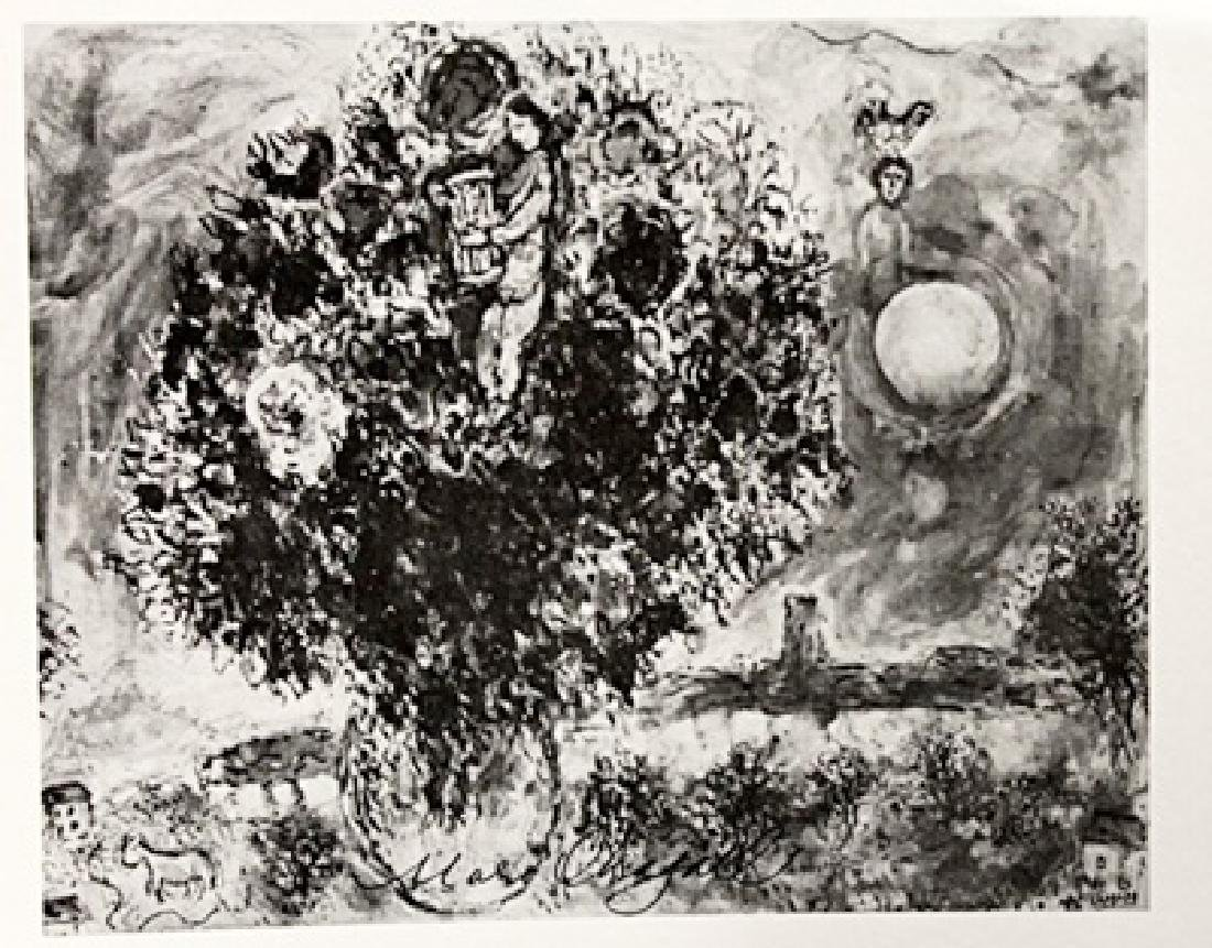 Marc Chagall Signed Lithograph 190