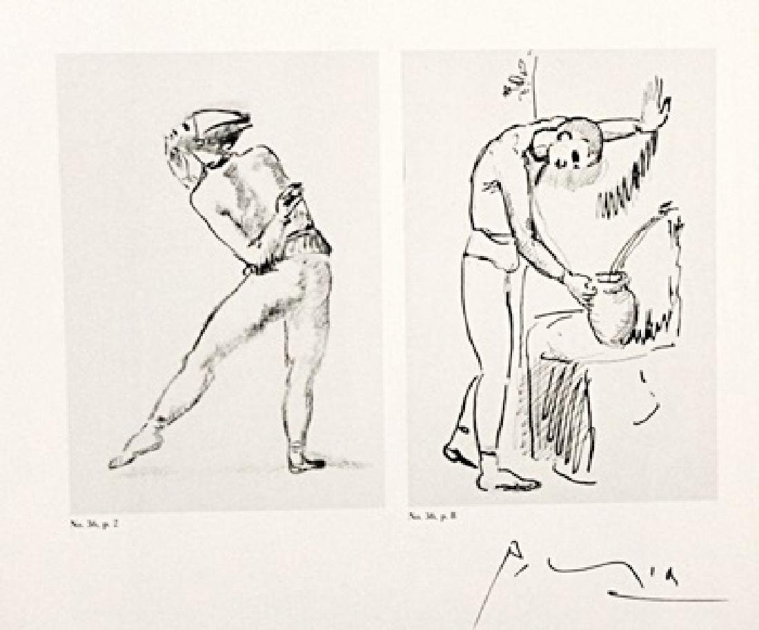 Pablo Picasso Signed Lithograph 297